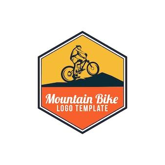 Логотип горного велосипеда