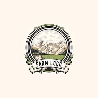 Mountain farm logo i