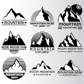 Mountain label Design