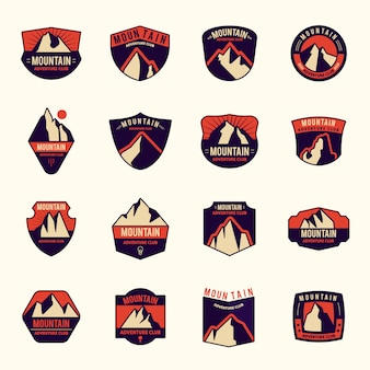 Mountain logo collection
