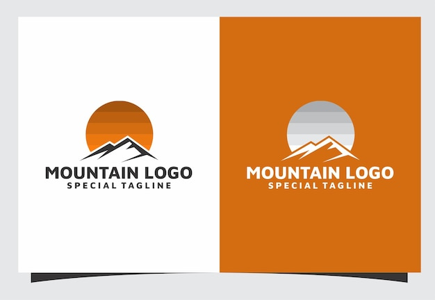 山のロゴデザイン