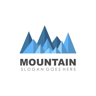 Mountain and outdoor logo design