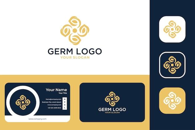 산 기술 현대 로고 디자인 및 명함