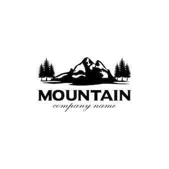 山/旅行/冒険ヒップスターのロゴデザインのインスピレーション