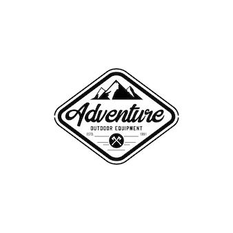 Mountain vintage logo template