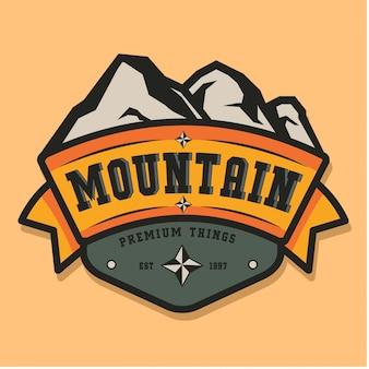 Mountain vintage logo