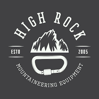 Mountaineering badge