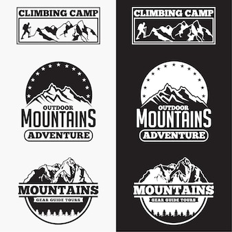 Mountains badges