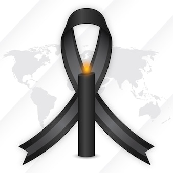 Mourning for the victims