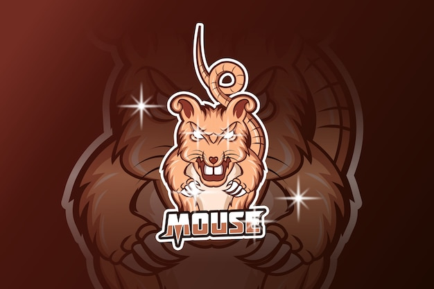 Mouse e sport logo
