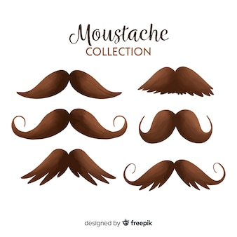 Moustache collection movember