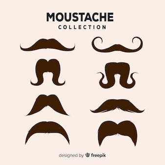 Moustache collection