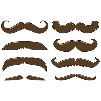Moustaches collection