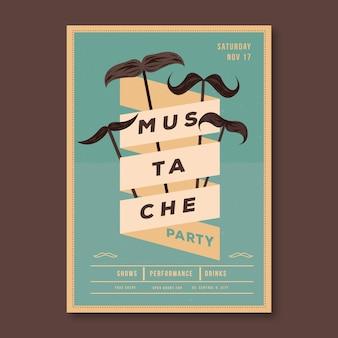 Movember flyer/poster