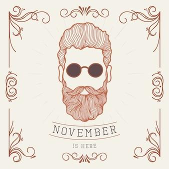 Movember в винтажном стиле