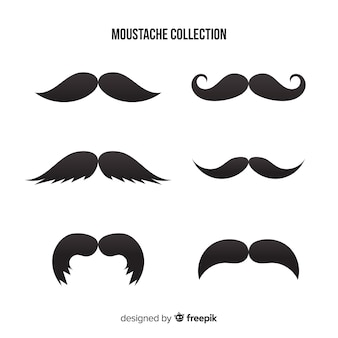 Movember moustache collection