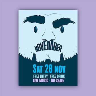 Movemberポスター