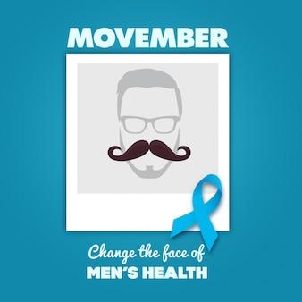 Movemberデザイン