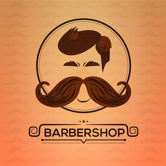 Movemberデザインの背景には口ひげ