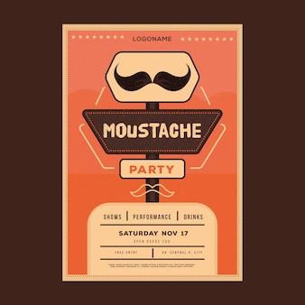 Movemberチラシ/ポスター