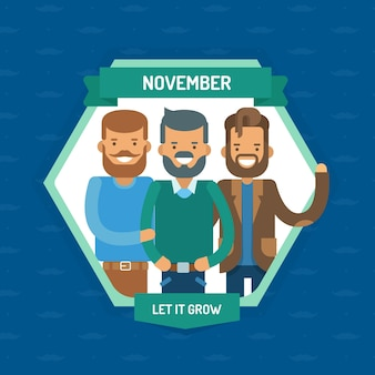 Movember背景