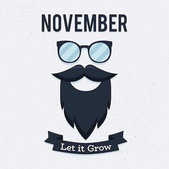 Movember前立腺がん啓発月間