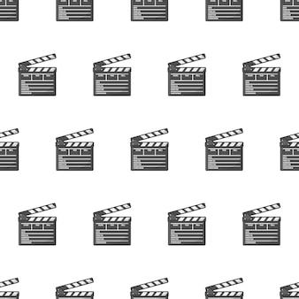 영화 클 래퍼 보드 원활한 패턴