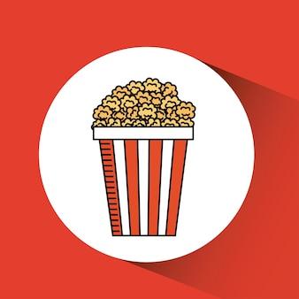 Movie icon design, vector illustration eps10 graphic