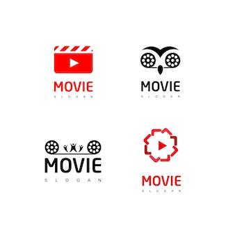 Movie logo set