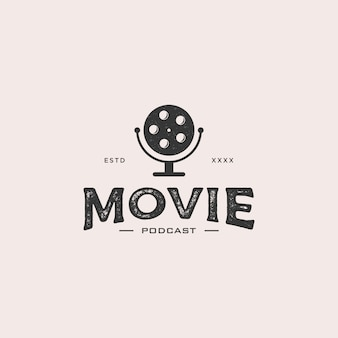 Movie podcast logo