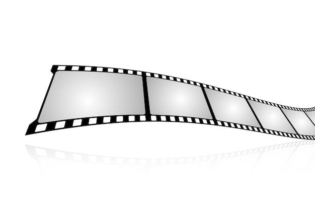 Movie tape set illustration