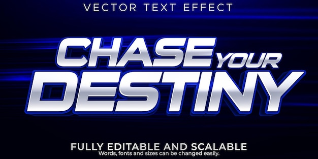 Movies, action text effect, editable cinema and show text style