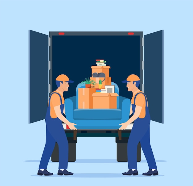 Служба переезда и доставка