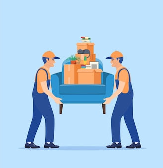 Moving service and delivery company.
