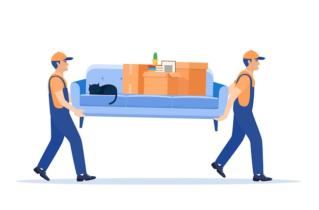 Moving service and delivery company