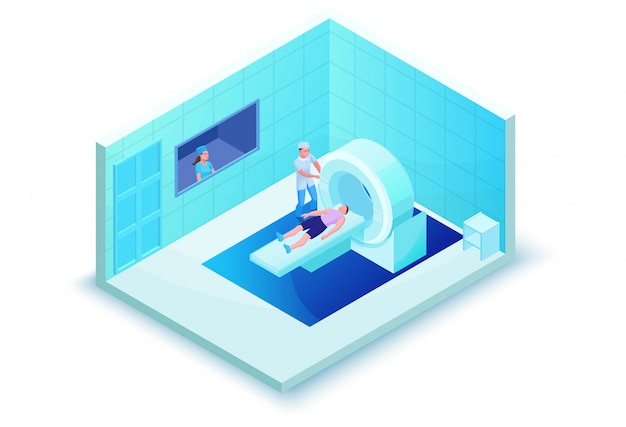 Mri scanning in healthcare system