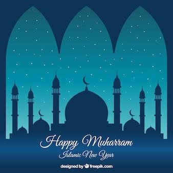 Muharram background design