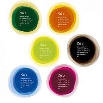 Multi colored balls collection
