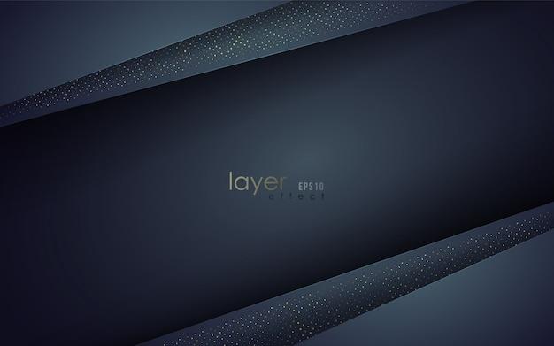 Multi layers effect. papercut style.