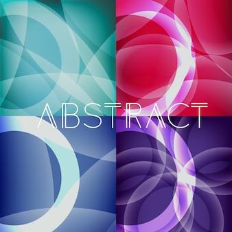 Многоцветный абстрактный фон
