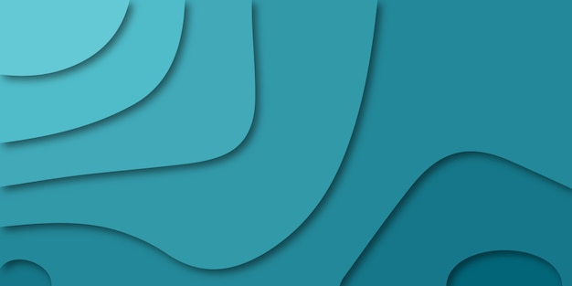青い色の異なる多色の背景。