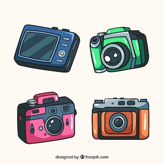 多色カメラコレクション