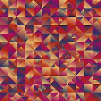 Multicolor geometric polygonal abstract triangle background