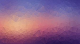 Multicolor low poly style gradient illustration background.