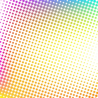 Multicolor Modern Halftone Design Background