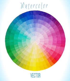 Multicolor  spectral circle