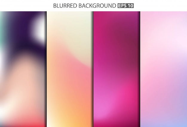 Multicolored blurred background.