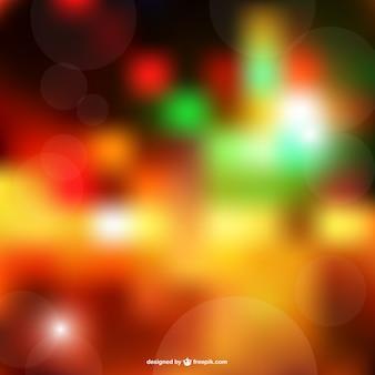 Multicolored bokeh background