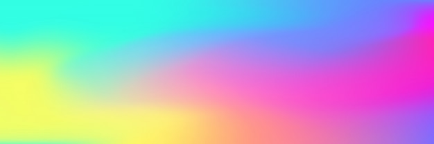 Multicolored bright gradient mesh  background