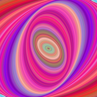 Multicolored elliptical digital art background